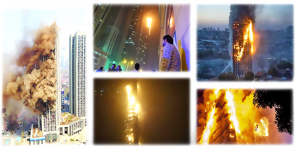 High Rise Building Fire Extinguishing System With Dry Powder Missiles Launching Iov Asia