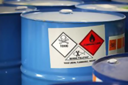 HAZARDOUS MATERIALS STORAGE SYSTEM